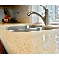 Buy cheap pure black quartz stone countertop from wholesalers