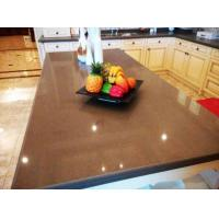 Buy cheap Engineered Quartz Countertop with 12/18mm Thickness, Slab Size of 2,400 x 1,200mm from wholesalers