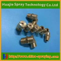 China Stainless steel ss or Brass flat fan spray nozzle wholesale