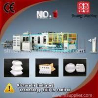 China Popular fast food box forming machinery wholesale