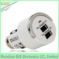 China 5V 2.1A dual usb car charger wholesale