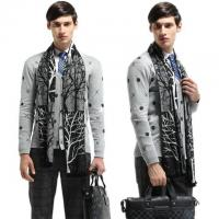 China Fashion Autumn/Winter Cotton Mens Scarves 180cm Casual wholesale