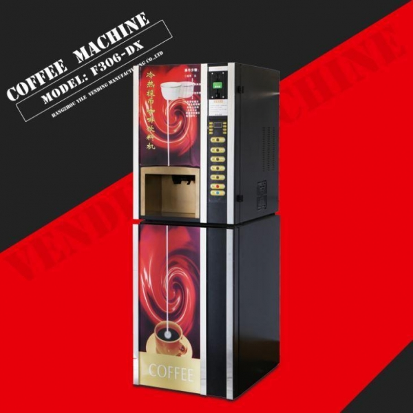 China F306DX Hot and Cold Coffee Vending Machine