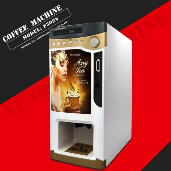 China F303V with Cups Coffee Vending Machine