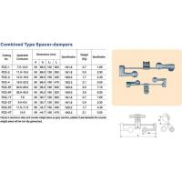 Combined type spacer-dampers