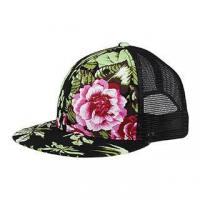 China Mega Cap 6997H-Flat Bill Trucker Cap wholesale