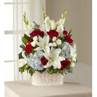 China Sympathy Flowers The FTD Greater Glory Basket wholesale