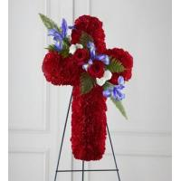 China Sympathy Flowers The FTD Living Cross Easel wholesale