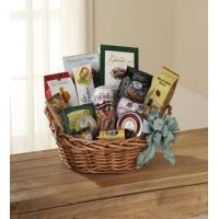Sympathy Flowers The FTD Warmth & Comfort Gourmet Basket