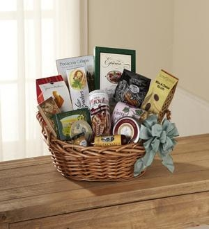 Quality Sympathy Flowers The FTD Warmth & Comfort Gourmet Basket for sale
