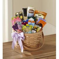 China Sympathy Flowers The FTD Quiet Tribute Gourmet Basket wholesale