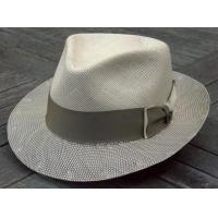 Buy cheap MEN'S HATS Danville, in Ivory & Taupe-Grey by Biltmore from wholesalers