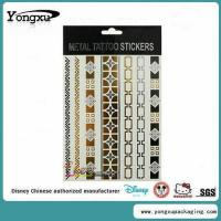 China Waterproof Flash Gold Temporary Tattoo Wholesale(ET1-1) wholesale