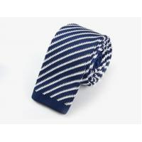 China Men′s Fashionable 100% Polyester Knitted Tie wholesale