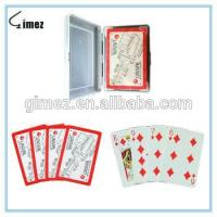 China 100% Plastic Playing Card 5000 Pack/Packs on sale