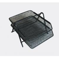 China 10202 2-TIER METAL MESH FILE TRAY on sale