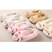 China Soft sherpa novelty slipper socks (Item#NIMS-15004) wholesale