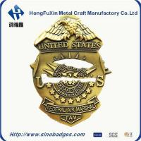 China Custom Collar Insignia, Tie Tacs & Bars for Police, Fire & Security DiaCast and 3D Process wholesale