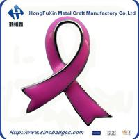 China Red Cross Specified Purple Scarf Stamping Badge in Soft Enamel on sale