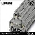 4(4) mm2,32A, double level terminal block for Phoenix