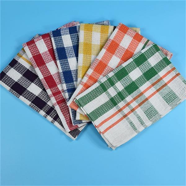 Wholesale Holiday Waffle Weave Cotton Kitchen Towels Of