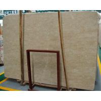 China French natural dark beige marble slab flooring tiles on sale