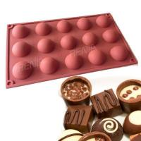 China RENJIA silicone chocolate tray christmas chocolate tray silicone chocolate mold tray wholesale