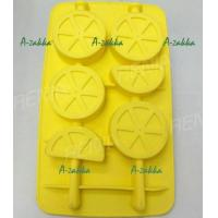 China RENJIA lemon ice cube lemon shaped ice cube silicone lemon tray wholesale