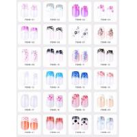 China Air brush nail tips wholesale