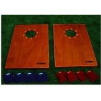 China Beach board toss game with LED light wholesale