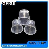 Buy cheap 1.0g Thermoforming Medicine Cup With Single Side Scale from wholesalers