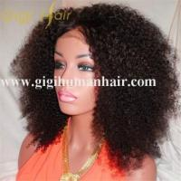 China Front lace wig with baby hair natural look, virgin Brazilian hair wholesale