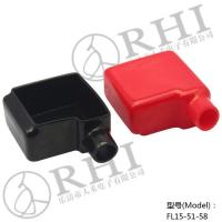 China Black 51mmx58mm Left Entry Auto Car Battery Terminal Boots wholesale