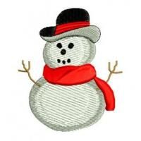 China Christmas Winter Snowman Snow Embroidery Design wholesale