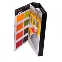 Custom design matte laminated paper tri-fold binder