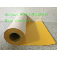 China Fluorescence pu vinyl heat transfer magic transfer film for cutter on sale