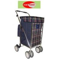 China Six-Wheel Shopping Cart, Collapsible wholesale