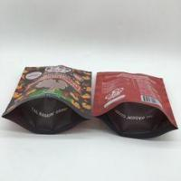 China 40mm Bottom Guest Pet Food Bag Stand Up Pouches Pressure Resisitance wholesale