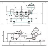 Water Cooled Gas Engine