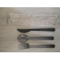Airline Disposable Plastic Cutlery Set, Made Of Plastic PS