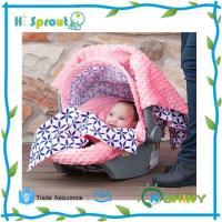 China Minky Baby Carseat Canopy on sale