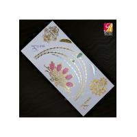 China Gold Temporary Tattoo LH021 on sale