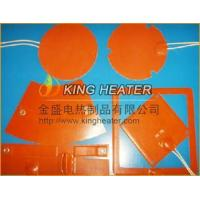 China Special Shape Silicone Rubber Heating Pad Mat on sale