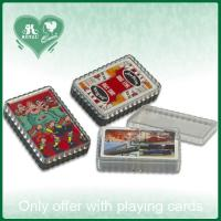 China Wavy Edge P.S Material Rigid Plastic Playing Card Box (S112) on sale