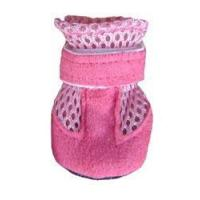 China All Dog Booties Mini Meshies by Barko Booties - Pink (small breed) on sale