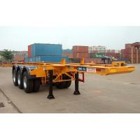 China 20ft Container Chassis/Container Semitrailer/Tanker Chassis wholesale
