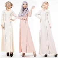 China 2016 Aliexpress hot design long sleeves O neck casual muslim clothing for women MSL0020 wholesale