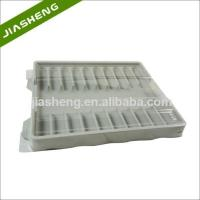 China Factory price Medical Plastic Tray for medicine bottles with Clear Cover wholesale
