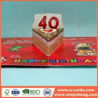 China Handmade Card How To Make A Cool Pop Out Card For Birthday wholesale