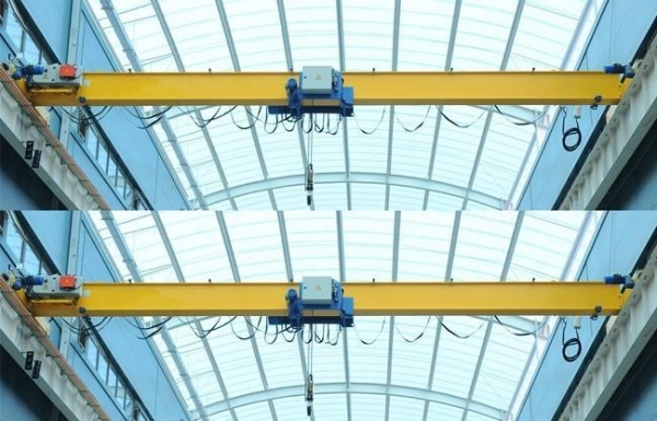 Overhead Crane Girder Deflection : European single girder overhead crane of cranesweihua